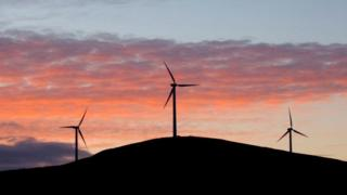 Shetland wind farm