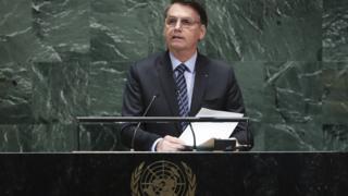 Bolsonaro na 74ª sessão Assembleia-Geral da ONU