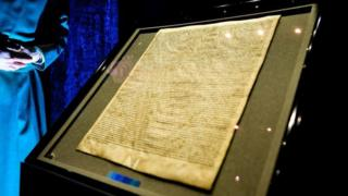 Man 'used hammer in Magna Carta theft attempt'