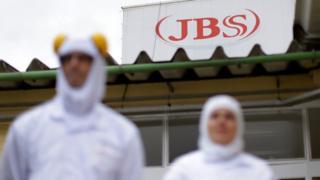 Funcionários da JBS no Brasil
