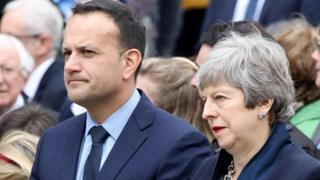 Leo Varadkar/Theresa May
