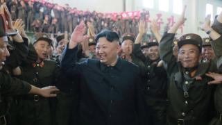 Nhà lãnh đạo Bắc Hàn Kim Jong-un