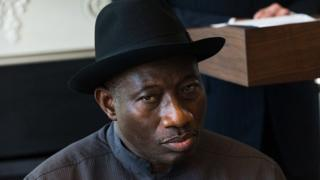 Former Nigeria president Dr. Goodluck Jonathan