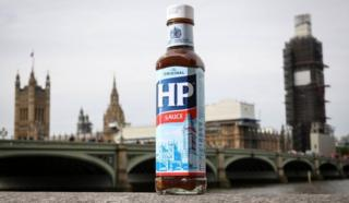 HP Sauce bottle