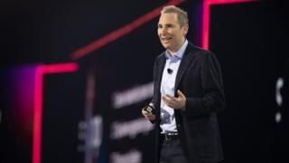 Tech Andy Jassy, chief executive AWS