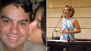 Anderson Gomes e Marielle Franco