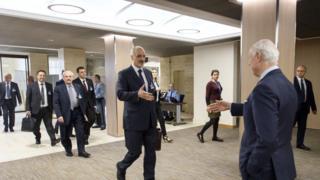 وفد الحكومة السورية في مفاوضات جنيف