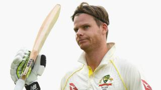 Steve Smith scored a century at the Waca in the 2013-14 series