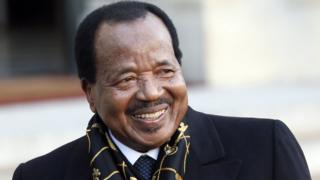 Cameroon president Paul Biya don appoint new ministers.