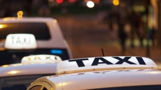 Taxis in a queue (generic)