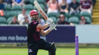 James Hildreth's knock of 159 surpassed his previous best of 151 against Scotland in 2009