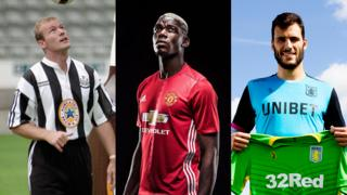 Alan Shearer, Paul Pogba and Andre Moreira