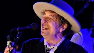 Bob Dylan performs at The Hop Festival in Paddock Wood, Kent on June 30 2012