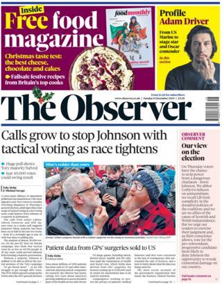 Observer 8 December 2019