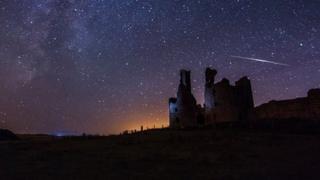 Photo of meteors - Chris Boundey