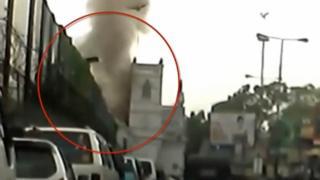 Explosion en Sri Lanka