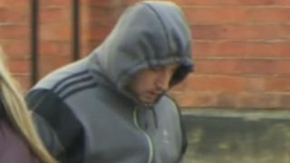 Chamberlain arrives at Lincoln Crown Court