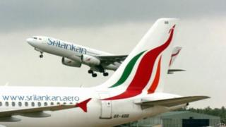 Sri Lankan Plane