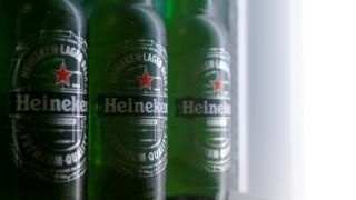 Heineken bottles