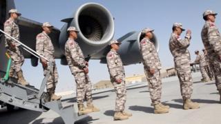 Katar'daki Türk askerleri