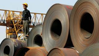 China, steel