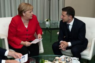 Меркель і Зеленський