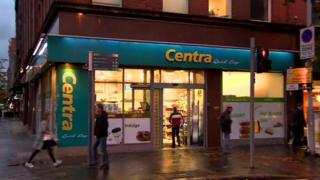 A Centra shop in Belfast