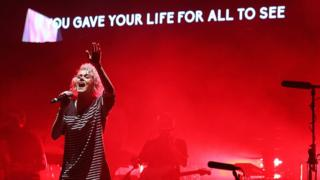 Hillsong's Taya Smith performs