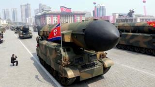 เกาหลีเหนือหวังว่ายุโธปกรณ์ที่มี จะทำให้สหรัฐฯ ไม่กล้าเข้าใกล้