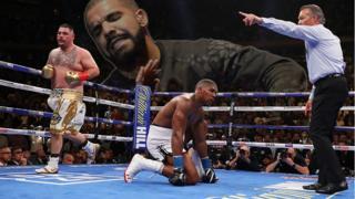 Drake and Anthony Joshua fight