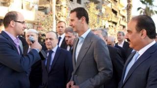 Rais Assad amesema ni lazima akomeshe mapigano hayo