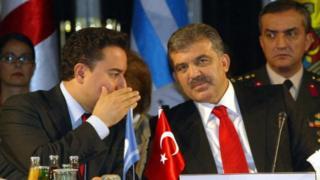 Ali Babacan ve Abdullah Gül
