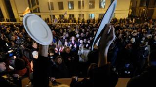 """""""Марш розсерджених білорусів"""" 17 лютого 2017 року в Мінську"""