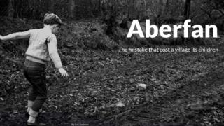 Front of the Aberfan shorthand piece