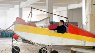 Один из китайских аэронавтов-самоучек