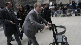 Harvey Weinstein arrives in court - 18 February