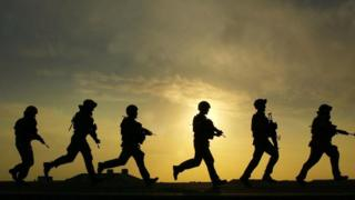 UK soldiers in Iraq