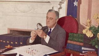 US President Franklin Delano Roosevelt (1944)