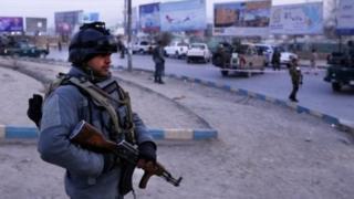 काबुल में तैनात एक सैनिक