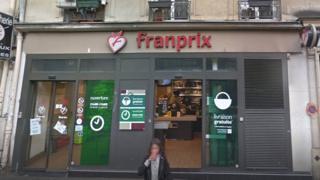 Franprix store, rue Bouret, Paris