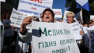 Протести медиків