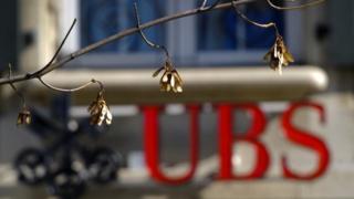 UBS sign
