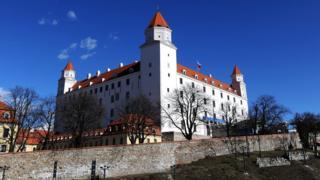 Братислава, замок