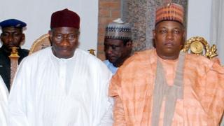 Goodluck Jonathan da Kashim Shatima
