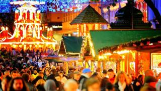 Birmingham Christmas market file photo