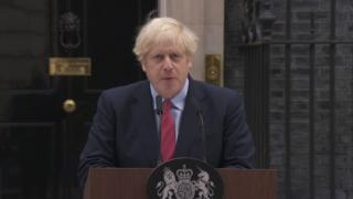 Coronavirus: Boris Johnson says this is moment of maximum risk