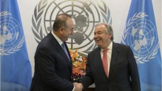 Mevlüt Çavuşoğlu ve Guterres