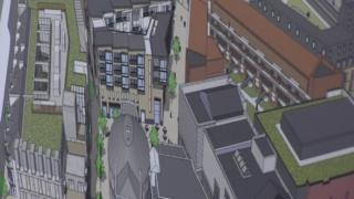 There is uncertainty about the future of a major regeneration scheme in Belfast