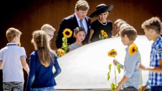 Король НІдерландів Віллем-Александр і королева Максіма