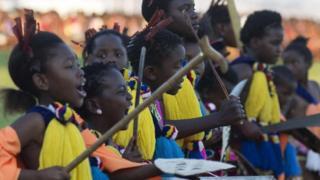 População e eSwatini